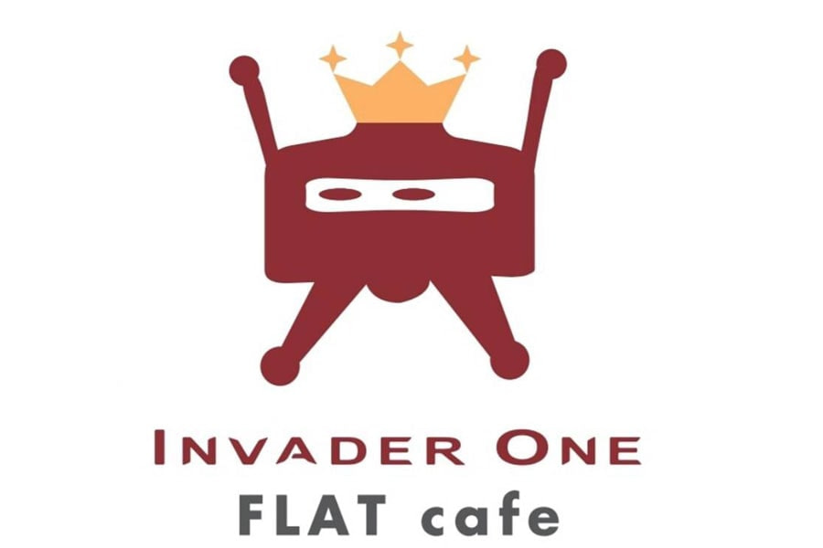 INVADER ONE FLAT cafe